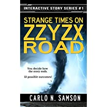 Strange Times on Zzyzx Road (Interactive Story Series Book 1)