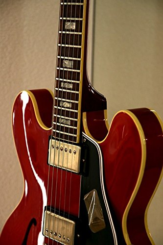 Home Comforts LAMINATED POSTER Electric Guitar Guitar Gibson