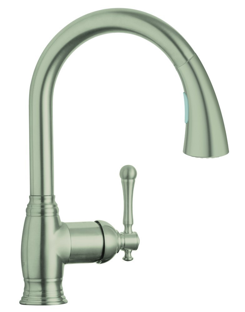 Bridgeford Single Handle Pull Down Kitchen Faucet   Touch On Kitchen Sink  Faucets   Amazon.com