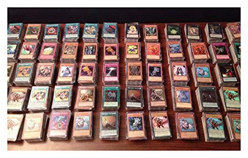 1000 YUGIOH CARDS ULTIMATE LOT YU-GI-OH COLLECTION - 50 HOLO FOILS & RARES! by Unknown