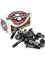 """Independent Genuine Parts Cross Bolts Standard Phillips Skateboard Hardware (Black/Black, 1"""")"""