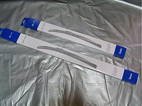"""Genuine parabrisas limpiaparabrisas escobilla 24 """"16"""" (2P/Set) para Hyundai"""