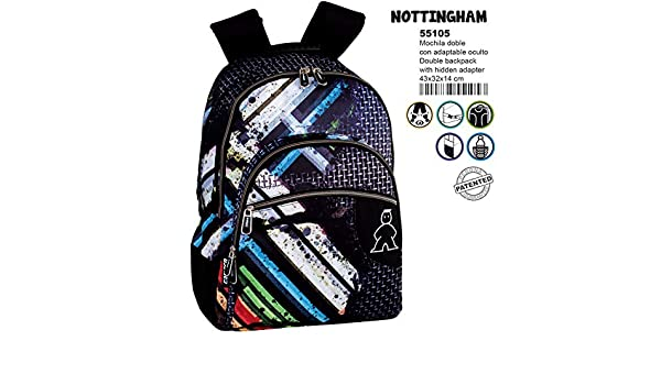 Amazon.com: Campro Nottingham double adaptable backpack 43cm: Toys & Games