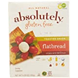 Absolutely Gluten Free Toasted Onion Flatbread, 5.29 Ounce - 12 per case.