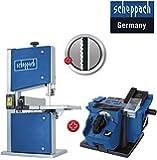 SCHEPPACH Heimwerker SET Bandsäge HBS20 + Ersatzblatt + Schärfstation GS650 *NEU*