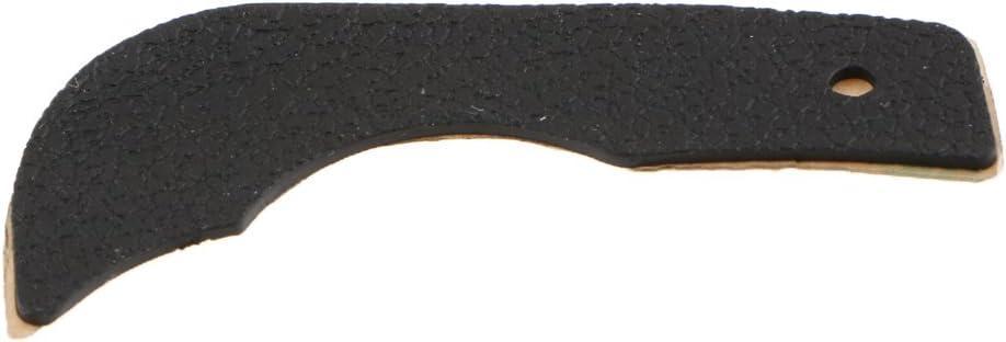 Pieza de Repuesto de Contraportada Trasera de Agarre de Goma Pulgar para C/ámara Nikon D90 con Cinta Adhesiva