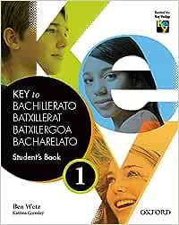 Key To Bachillerato 1. Student's Book - 9780194611053