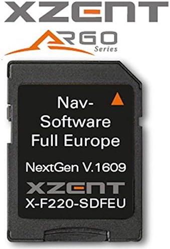 Xzent X F220 Micro Sd Card With Igo Primo Europamap X F220 Sdfeu Navigation Car Hifi