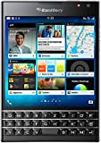 "BlackBerry Passport - Smartphone libre Blackberry (pantalla 4.5"", cámara 13 Mp, 32 GB, Quad-Core 2.26 GHz, 3 GB RAM, teclado QWERTZ alemán) , negro"