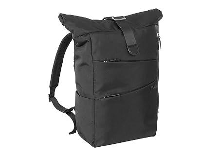 b103a507d4 Zaino Padded   Nava Design Rolltop   TR074-Black: Amazon.co.uk: Luggage
