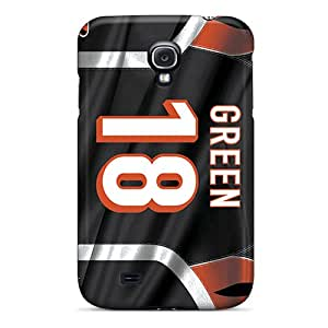 Tanya5423 Case Cover For Galaxy S4 - Retailer Packaging Cincinnati Bengals Protective Case