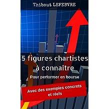 Les 5 figures chartistes à connaître: pour performer en Bourse (Même si l'on est un parfait débutant) (French Edition)