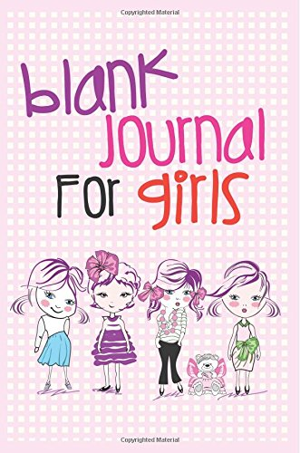 Blank Journal For Girls: 6 x 9, 108 Lined Pages (diary, notebook, journal, workbook)