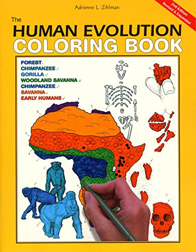 Pdf Crafts The Human Evolution Coloring Book