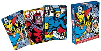Aquarius Juego de Cartas de cómics de Marvel x-Men Series 2