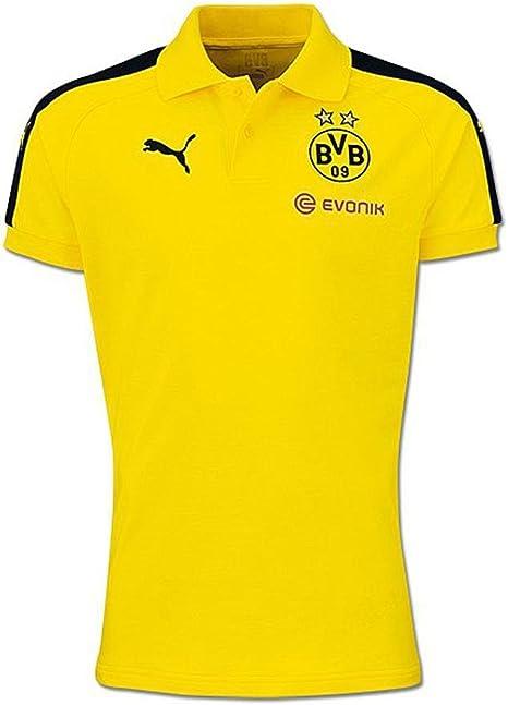 Puma Borussia Dortmund Performance Polo Camiseta 2016 2017 Niños ...