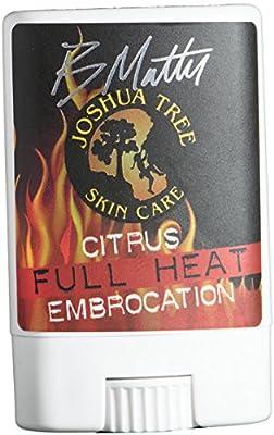 Joshua Tree Brian Matter Citrus Full Heat Embrocation