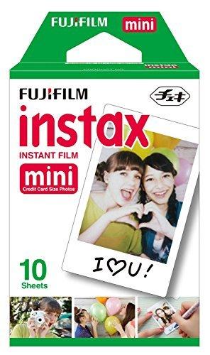 Fujifilm Instax Mini Single Pack 10 Sheets Instant - Instant Film Polaroid 800