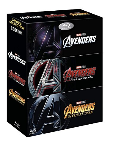 Marvel Universe Limited Edition - Avengers Collection (1-3 Box-set) [Blu-ray]