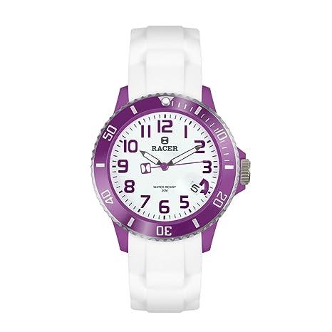 Relojes racer white elegance series we01