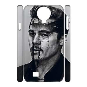 C-EUR Cell phone case Brad Pitt Hard 3D Case For Samsung Galaxy S4 i9500