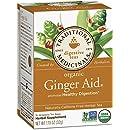 Traditional Medicinals Organic Ginger Aid Tea, 16 Tea Bags (Pack of 6)