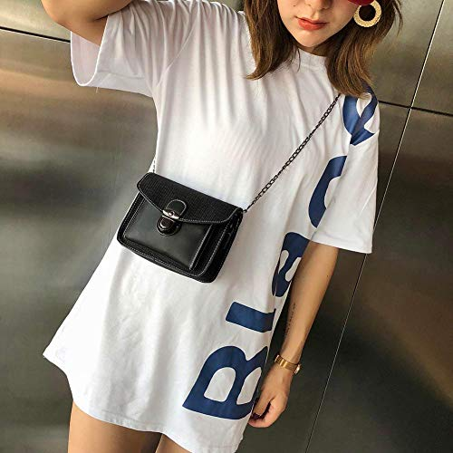 al Bolso Negro mujer hombro para Widewing 460qw6