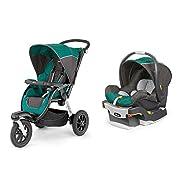 Chicco Activ3 Jogging Stroller with KeyFit 30 Infant Car Seat Travel System - Energy