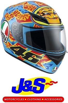 Amazon.es: AGV K3 Rossi Mugello 2001 casco de motocicleta ...