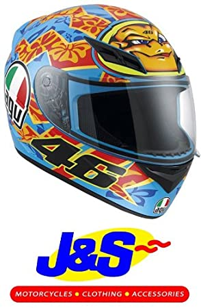 AGV K3 Rossi Mugello 2001 casco de motocicleta Moto réplica J & S