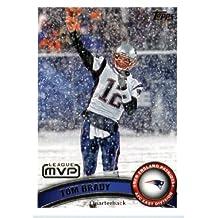 2011 Topps Football Card # 240 Tom Brady MVP - New England Patriots (NFL League MVP) NFL Trading Card