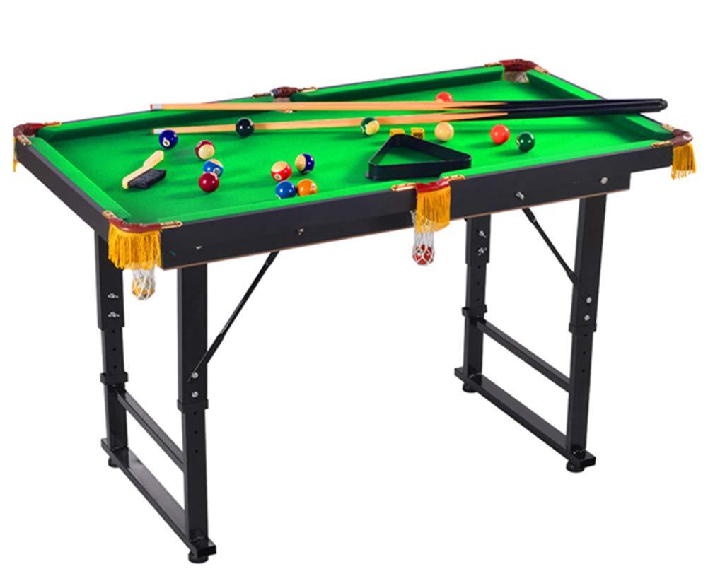 Billard Table Faltlift-Typ Pool Tisch Steady Modernes Space Sparen Billard Table Game für Kinder und Erwachsene mit Cues, Ball, Chalk, Rack, Pinsel inklusive