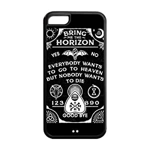 Snap-on TPU Rubber Coated Case Cover for iPhone 4/4s [BMTH Bring Me to the Horizon]