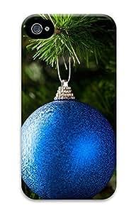 iPhone 4 4S Case Blue Ornament 3D Custom iPhone 4 4S Case Cover