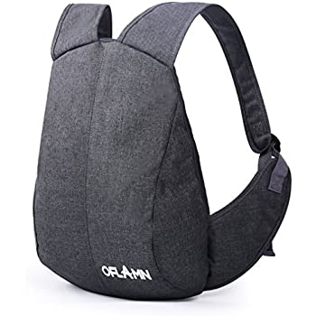 Amazon.com: Oflamn Anti-theft Laptop Backpack Slim Daypack Fits 11 ...