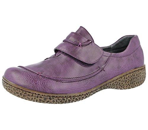 Faux Fulle Flate Damer Tilfeldige Loafer Størrelse Fottøy 9 Sko Lilla Skinn Fosterbarn Jane Sandaler Mary 4 fZExpqnwT