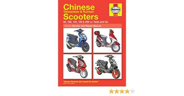 h4768 haynes chinese taiwanese korean scooter repair manual rh amazon com Service ManualsOnline Parts Manual