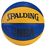 Spalding NBA Mini Basketball - Blue/Orange