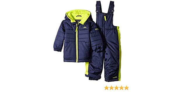 e5897170c10c Amazon.com  Pacific Trail Baby Boys  Quilted 2 Piece Snowsuit