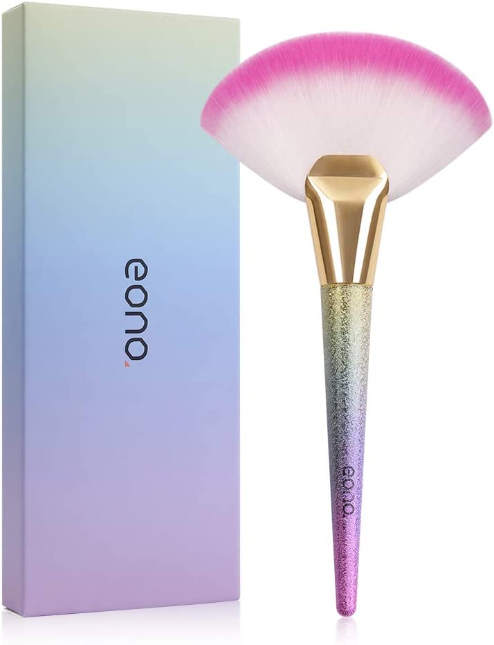 Eono by Amazon - Professional Brochas de Maquillaje Cepillo Facial Highlighting Maquillaje Herramienta Cosmética 1 Piezas