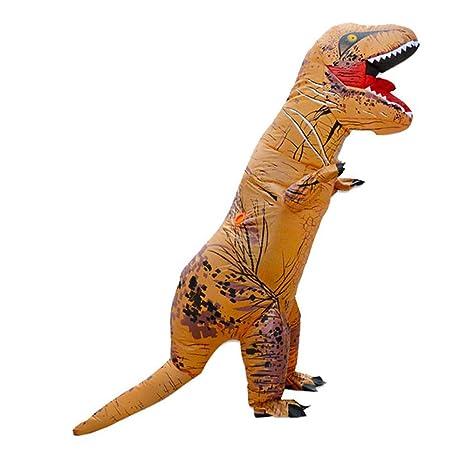sunnywill Hinchable Dinosaurio Traje Velociraptor Trajes de ...