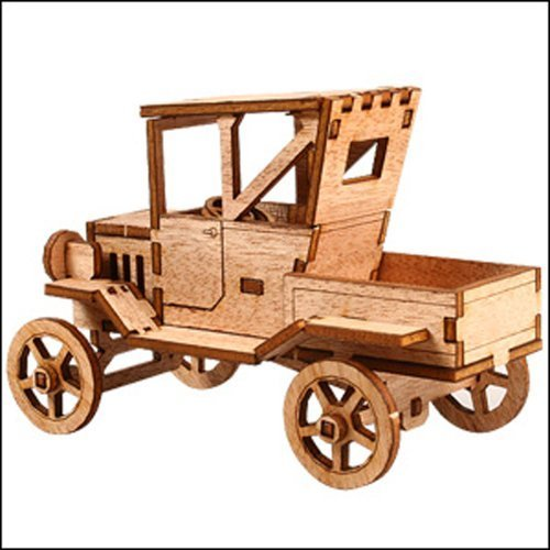 Desktop Wooden Model Kit Ford T Pickup Truck by Young Modeler YOUNGMODELER