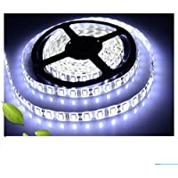 5M Waterproof Super Bright 3528SMD 600 LED Strip SAG Flat Strip White for Decoration