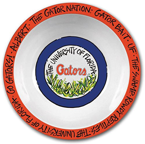 Florida Gator Football Bowl (Collegiate Melamine Bowl (Florida Gators))