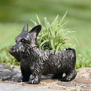 SPI Home 33392 Scottie Dog Planter Box