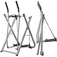 GWSPORT Bicicleta Elíptica Plegable, Manguera De Aire Walker Steppers Gimnasio En Casa Máquina De Ejercicio Elíptica…