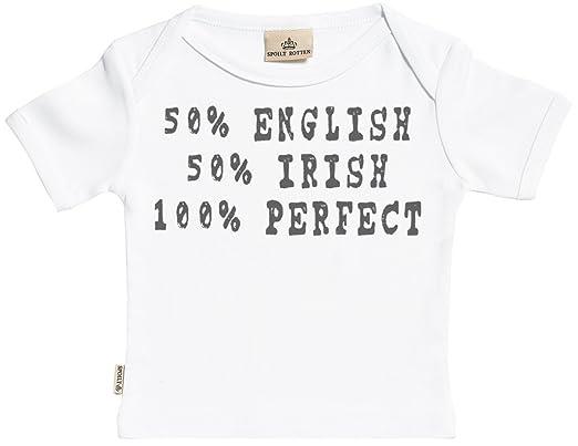 Regalos Bebe Personalizados Amazon.Spoilt Rotten Personalizados Bebe 50 50 Camisetas