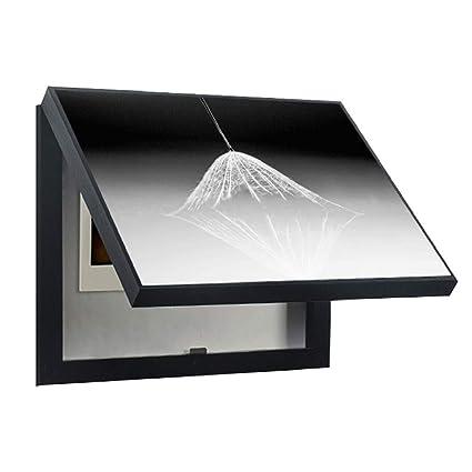 LITING Medidor eléctrico Cuadro de Pintura Decorativa Restaurante con Tapa Cuadro eléctrico Cubierta de Interruptor Caja