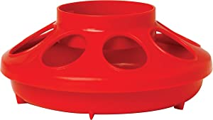 Little Giant Plastic Feeder Base Heavy Duty Plastic Feed Tray Base for Container