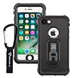 Armor-X IP68 Ultimate waterproof case for iPhone 8 & iPhone 7 with carabiner & X-moun